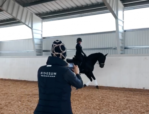 Digital Ridesumträning: träna med en kompis som filmar!