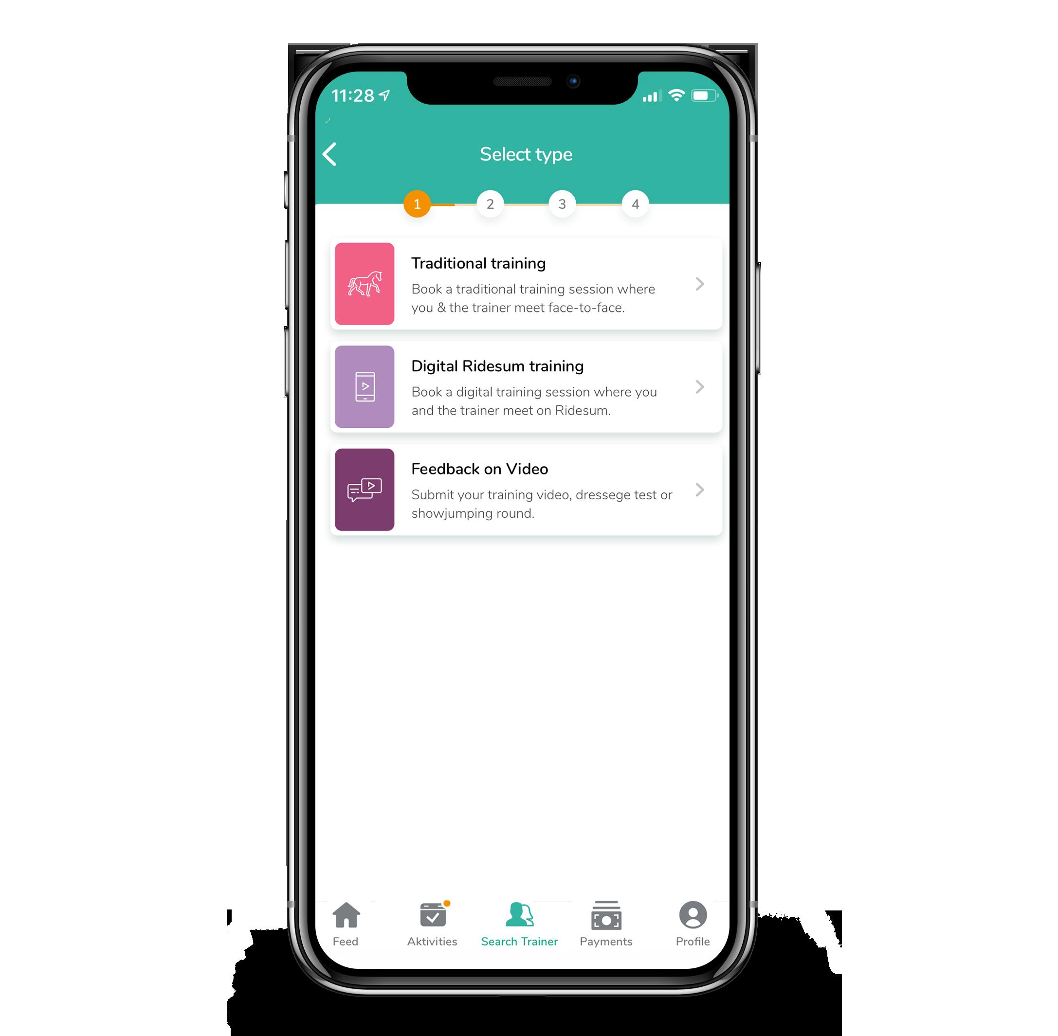 Image: Book all types of classes through our Ridesum app