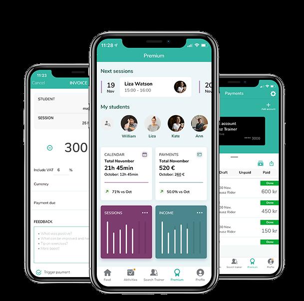 Tränarpremium - Ditt kompletta Pocket Office