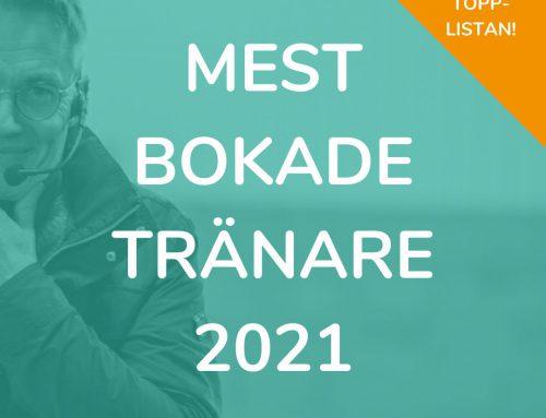 Mest bokade tränarna i Ridesum? Här är topp 20-listan!