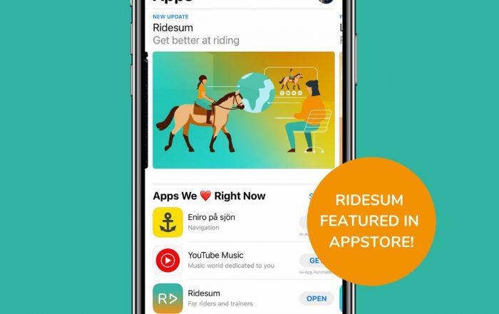 Image: Ridesum App Store