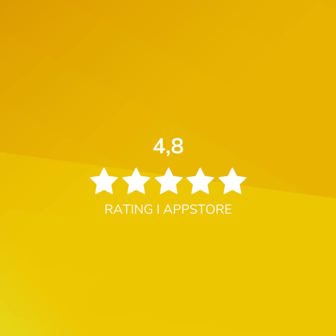 Bild: Ridesum Rating App Store 2021
