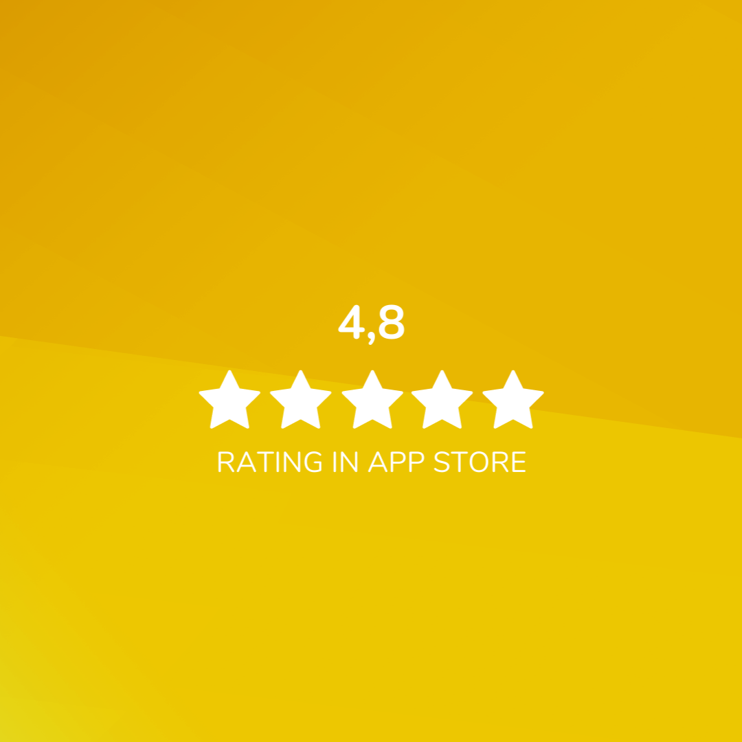 Image: Rating in app store 2021