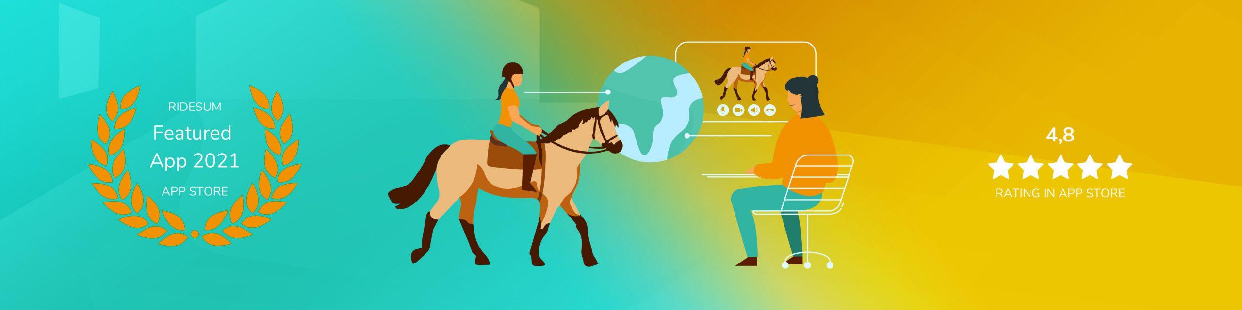 Image: Ridesum Rating in App Store 2021