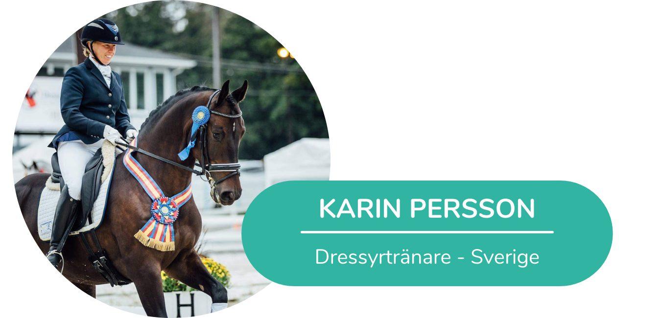 Karin Persson dressyrtränare